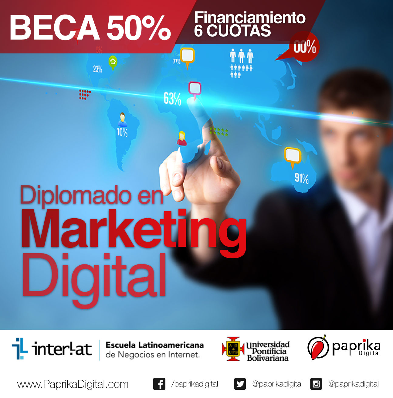 Último día para matricular el Diplomado en Marketing Digital