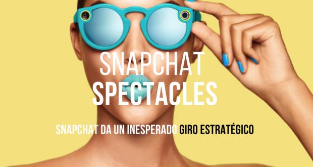 Snapchat ya no quiere ser solo un chat y por eso cambió su nombre a Snap Inc., introduciendo dentro de su cartera de productos los muy sonados 'Spectacles'.